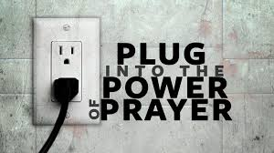 Plug-into-prayer